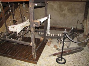 Cooperativa Nido di Seta, Museo: telaio antico